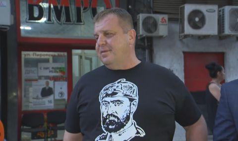 Каракачанов: Не ми харесва резултата