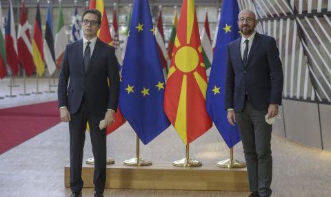 Северна Македония е готова да започне преговори с ЕС