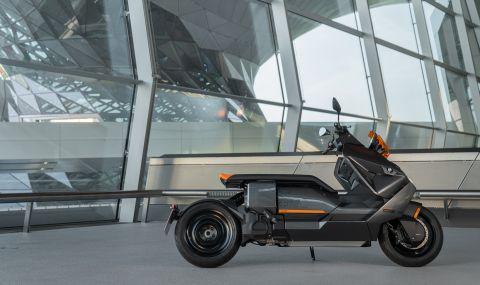 BMW представи електрически скутер с максимална скорост от 120км/ч - 5