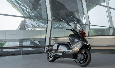 BMW представи електрически скутер с максимална скорост от 120км/ч - 6