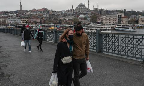 Ердоган затваря Турция за 4 дни