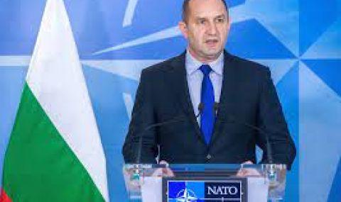 Радев повежда делегация за среща на НАТО в Брюксел