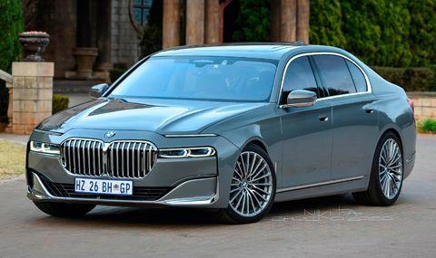 Първи поглед към новото BMW 7er