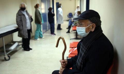 Болниците в Атина – пълни с болни от коронавирус