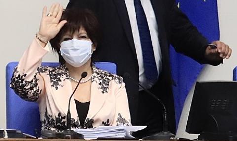 И ДПС поиска оставката на Караянчева. Тя: Няма да я дам!