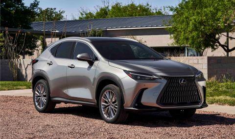 Lexus показа обновения NX с първото за марката plug-in хибридно задвижване - 1
