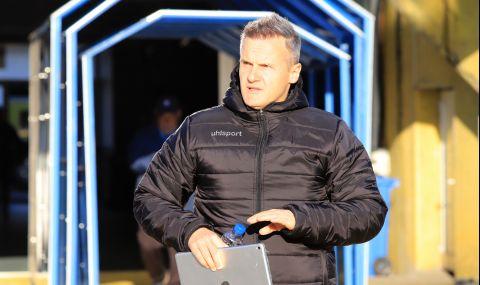 Треньорът на Ботев Пловдив: За първи път чувствам, че имам отбор
