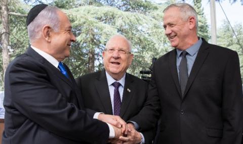 Най-после! Нетаняху и Ганц се споразумяха за правителство