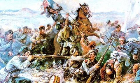 31 юли 1877 г. Опълчението ни получава бойното си кръщение край Стара Загора - 1