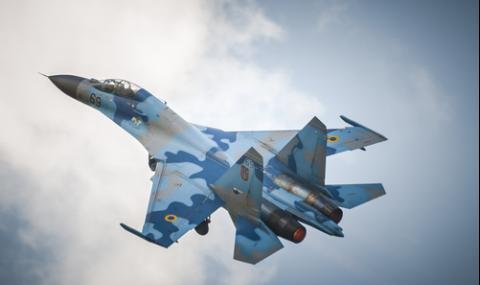 Екшънът със Су-27 над Балтийско море (ВИДЕО)