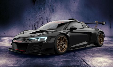 Audi показа цветни състезателни R8-ци с цена от 350 хиляди евро - 4