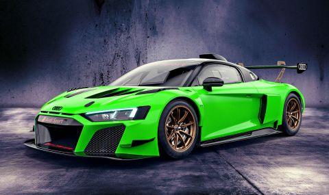 Audi показа цветни състезателни R8-ци с цена от 350 хиляди евро - 5