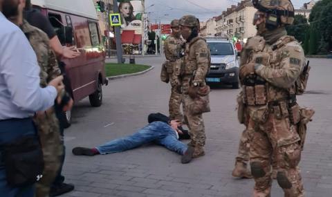 Нападение на банка в Киев
