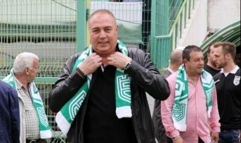 Шеф: Петър Колев има договор с Берое и няма как да взима моментни решения