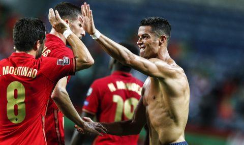 Роналдо спаси Португалия от срам, записа и рекорд - 1