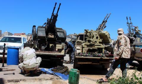 Силите на Хафтар блокират полетите на ООН