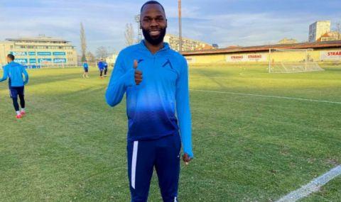 Нов футболист започна тренировки с Левски