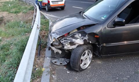 Катастрофа блокира движението на пътя Враца – Оряхово