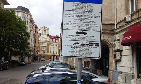 Без синя и зелена зона днес в София
