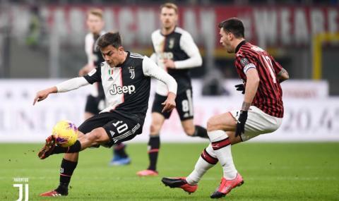 Роналдо спаси Юве в 91-вата минута срещу Милан за Купата на Италия (ВИДЕО)