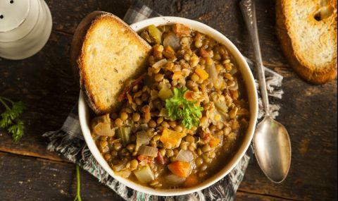 Рецепта за вечеря: Френска леща с бекон - 1