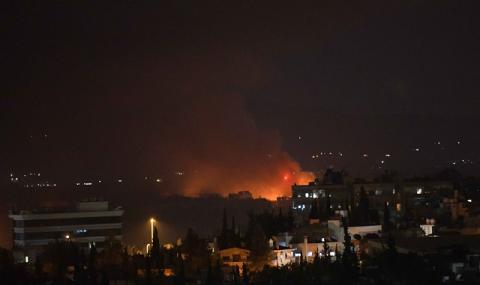 Бомбен удар в сърцето на Дамаск
