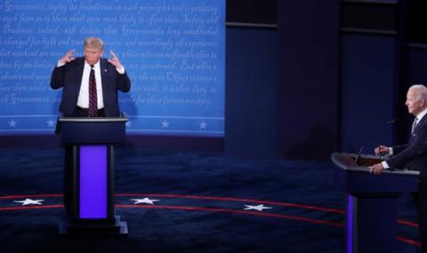 Тръмп vs. Байдън: Досега такъв дебат не е имало!