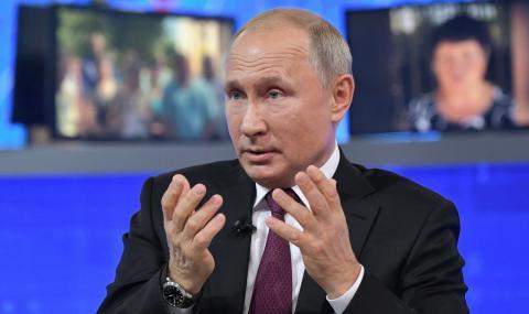 Путин към Зеленски: Ти не си в комедия, а в трагедия