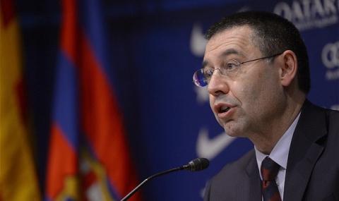 Барселона временно без президент