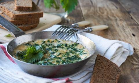 Рецепта за вечеря: Джуркана коприва с яйца и сирене