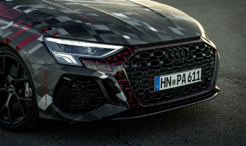 Audi RS3 ще разполага с 400 конски сили и дрифт режим (ВИДЕО) - 5