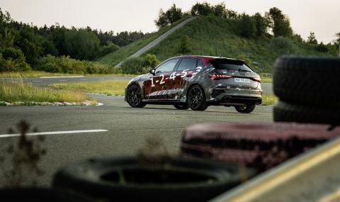 Audi RS3 ще разполага с 400 конски сили и дрифт режим (ВИДЕО) - 6