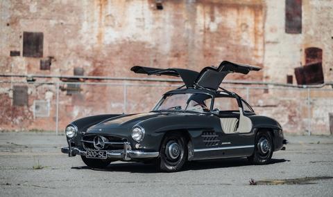 Най-скъпо продаденият Mercedes за миналата година