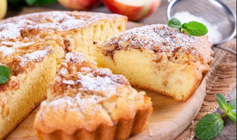 Рецепта на деня: Постен сладкиш с ябълки