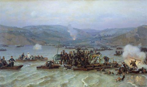 Предният отряд на генерал Гурко. Началото на похода - 1