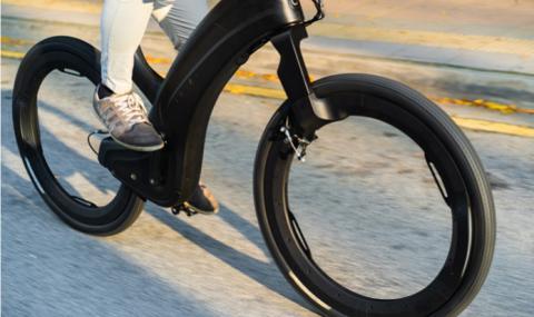 Електрически велосипед с колела без спици (ВИДЕО) - 1