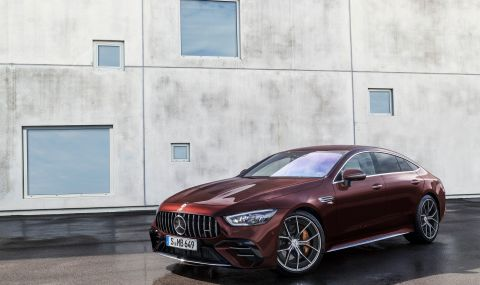 Mercedes обнови AMG GT 4-Door Coupe за 2022 година - 2