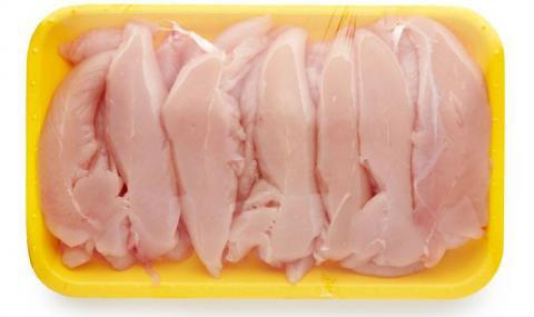 Видите ли това върху пилешкото, веднага го изхвърлете