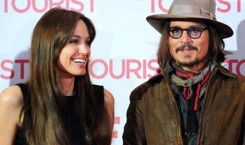 Джони Деп е лудо влюбен в Анджелина Джоли