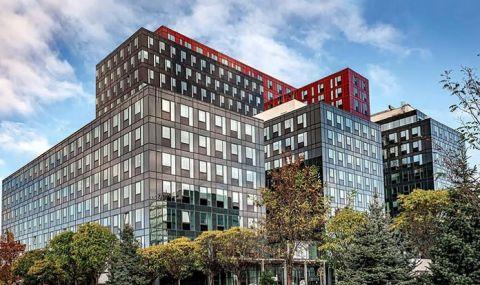 Напълно нова визия на голяма офис сграда