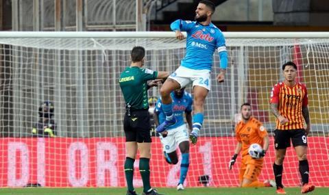 Наполи затвърди възхода си с победа в Серия А