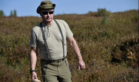 Вижте как почива Владимир Путин (СНИМКИ)