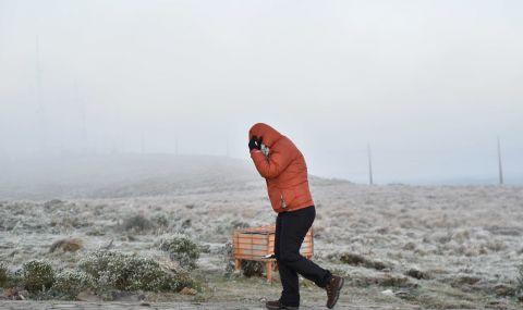 Студ и сняг в Бразилия - 1
