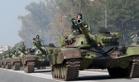 Сърбия с невиждани военни учения