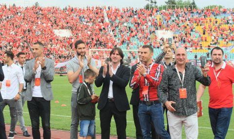 ЦСКА с поздрав към Велизар Димитров