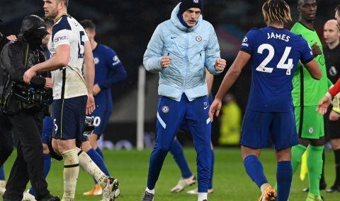 Челси нанесе втора поредна домакинска загуба на Тотнъм (ВИДЕО)