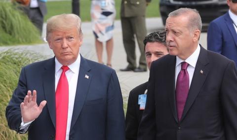 Тръмп не иска да налага санкции на Турция