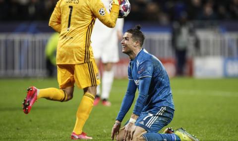 Роналдо не отбеляза гол за първи път през тази година