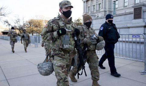 Тероризъм? В Капитолия задържаха мъж с щик и мачете в пикап близо до централата на демократите - 1