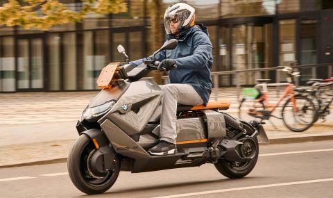 BMW представи електрически скутер с максимална скорост от 120км/ч - 1